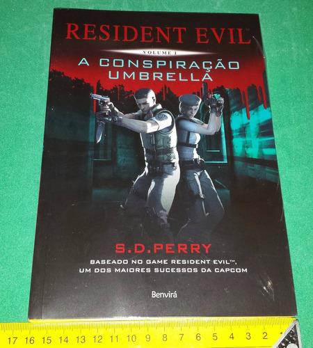 resident evil volumes 1, 2 e 5 - s d perry livros novos
