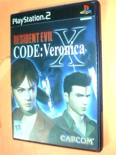 resident evil x code: veronica - ps2 original c/caja sin man