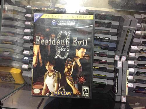 resident evil zero game cube