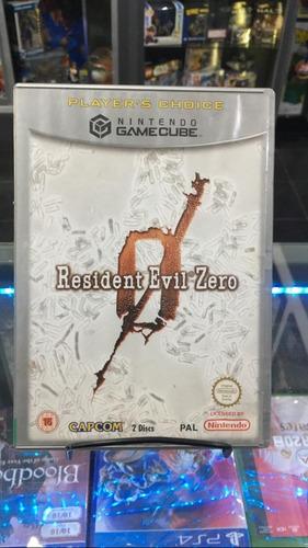 resident evil zero gamecube fisico