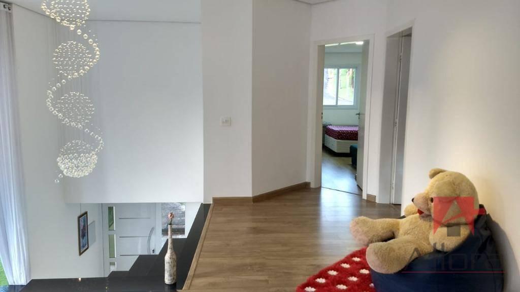residência charmosa e confortável com 4 suítes à venda, 315 m² por r$ 1.399.000 - condomínio jardim das palmeiras - bragança paulista/sp - so0877