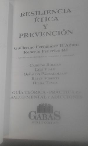 resiliencia ética y prevención.