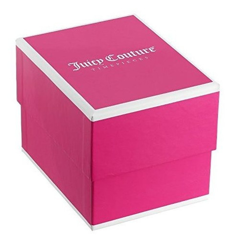 resina de cuarzo \'hollywood\' de juicy couture y reloj