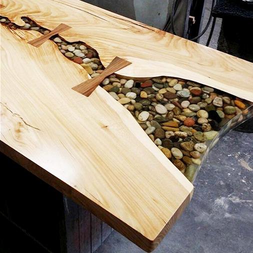 Armario Locker Locação ~ Resina Epóxi Cristal P Madeira mesas móveis Kit 7,5 K