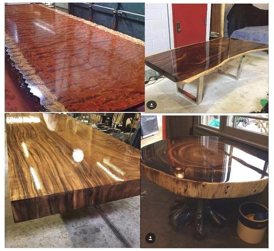 Resina epoxi cristal vidrio liquido para madera 1 450kg for Resina epoxi madera