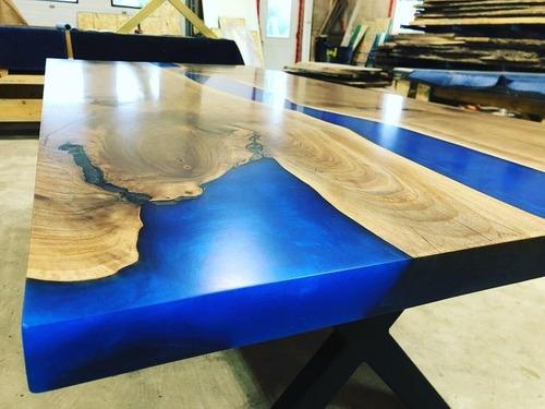 resina epoxi média madeira river table artesanato 1,45 kg