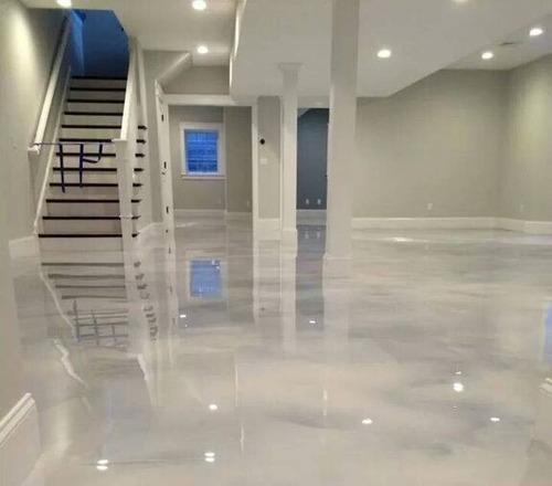 resina epoxica pisos 3d transparente x 1 kg porcelanato liqu