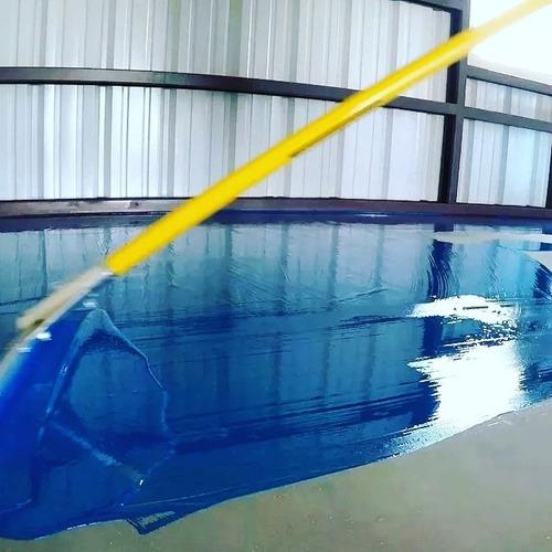 resina espoxy pisos para el hogar hangares taller mecánicos