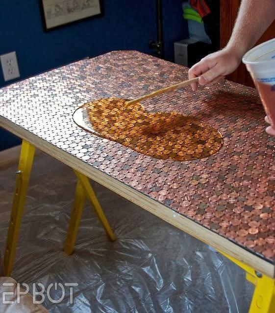 Resina gemelos epoxica x galon a b mesas en madera 4kilos for Mesas de resina para jardin