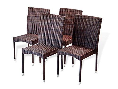 resina patio patio de jardín al aire libre deck silla  w37