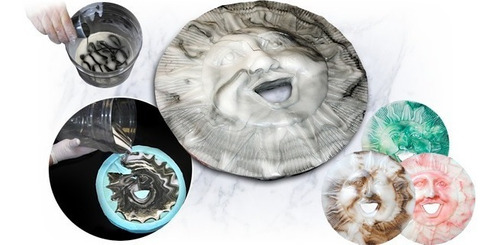 resina plastica liquida cast poliuretano 320 x 430g  marmol