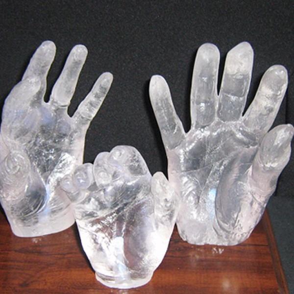 Resina poliester cristal artesanato lamina o manual for Arcones de resina para exterior