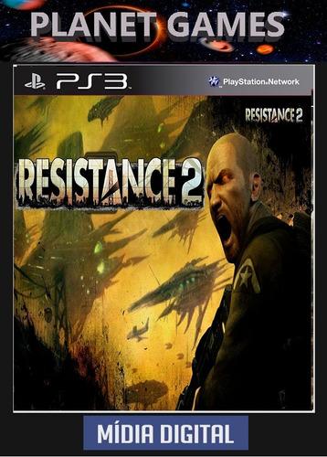 resistance 2 psn ps3 envio imediato