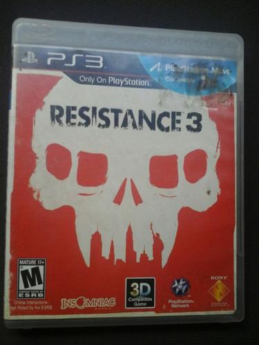 resistance 3 - fisico - ps3