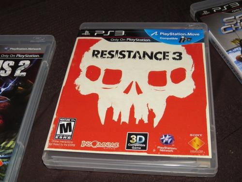 resistance 3 juego ps3 español latino doblado