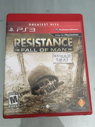 resistance fall of man ps3 original