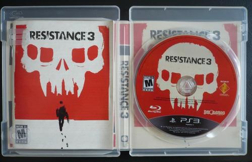 resistance juego ps3