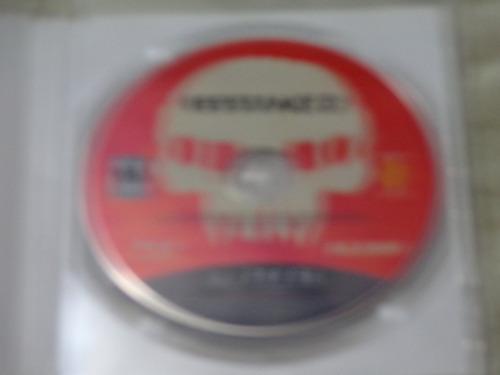 resistance ps3 juego