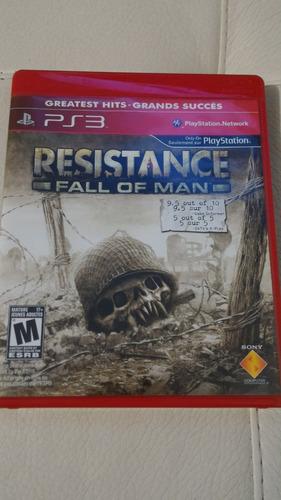 resistance ps3 juegos)