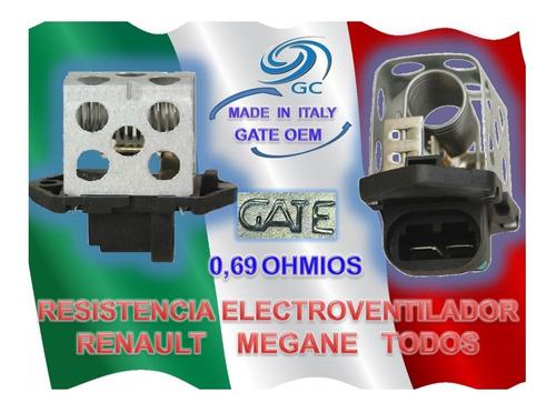 resistencia electro ventilador  renault  megane todos