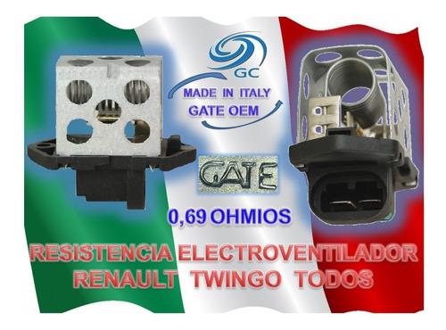 resistencia electro ventilador renault twingo todos autogamm