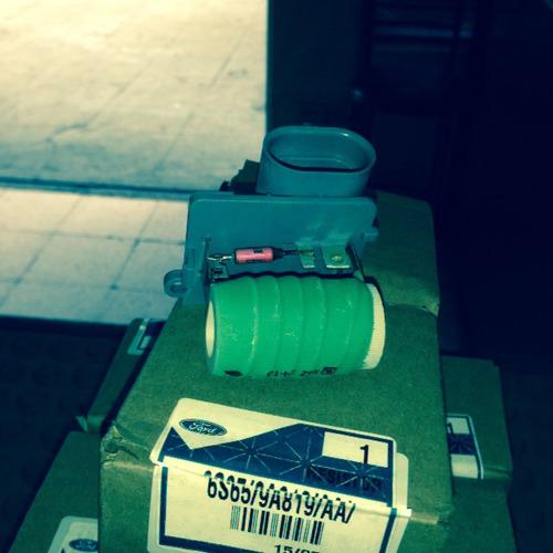 resistencia electroventilador  ford fiesta/ecosport
