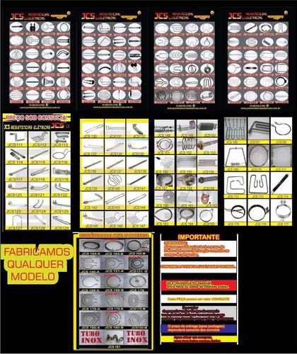 resistencia elétrica para aquecedores colsol solares 1.1/4