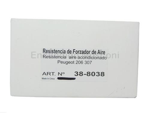 resistencia forzador peugeot 206 207 307 citroen c3