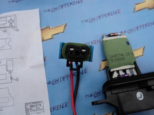 resistencia modulo motor soplador aire van express kodiak