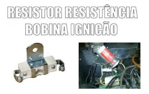 resistencia resistor bobina ignicao 1,50 ohms