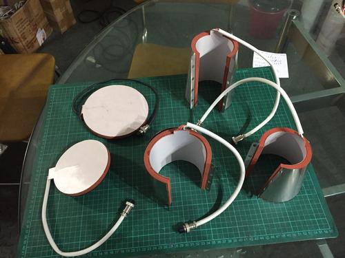 resistencia tazas rectas, conicas y platos sublimacion