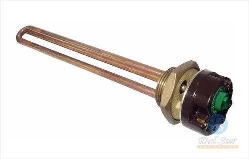 resistencia y termostato termotanque electrico reco italiano