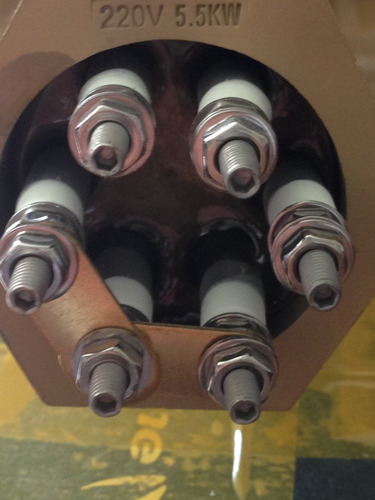 resistencias 5.5 kw, 7.5 kw, 9 kw (220 v),  servicio técnico