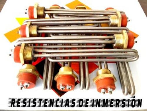 resistencias de inmersión/tubular/ alambiques 5000w - 220v