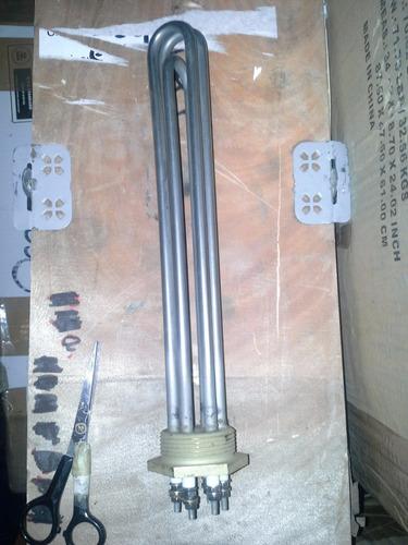 resistencias eléctricas 7.5 kw (220 v), 5.5 kw (220 v), 9 kw