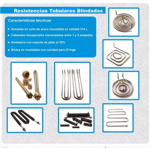resistencias electricas industriales a medida