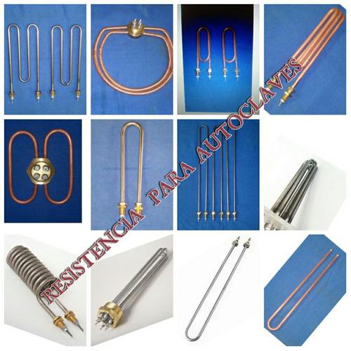 resistencias eléctricas industriales para  autoclaves