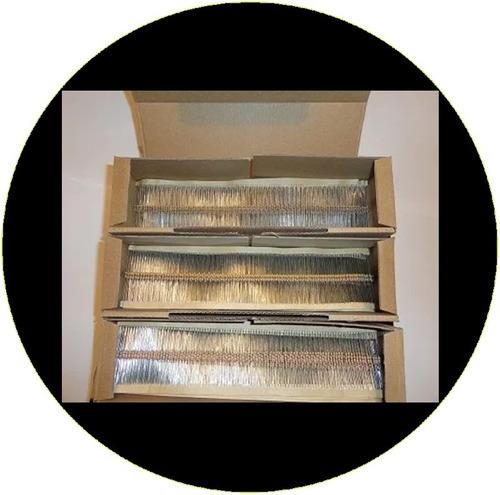 resistencias, resistores, 100 piezas / envio gratis por dhl