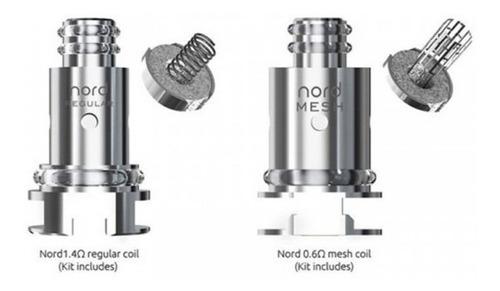 resistencias smok nord mesh 0.6 ohm. blister de 5 unidades