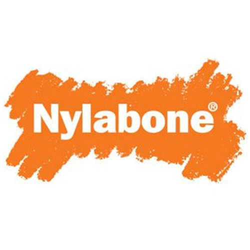 resistente hueso de nylon para morder talla m/l - nylabone