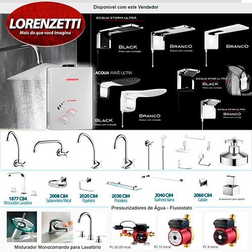 resistência 3056 f ou e ducha advanced eletronica lorenzetti