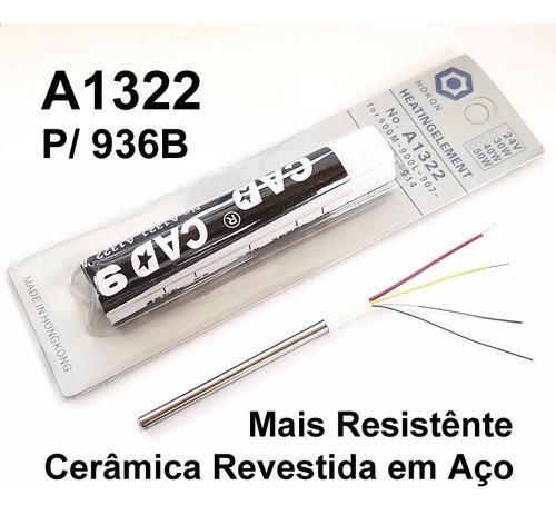 resistência cerâmica estação solda 936b universal a1322 aço