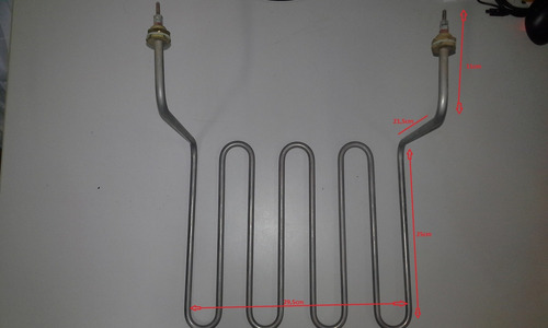 resistência elétrica fritadeira croydon wts 5kw 4 voltas