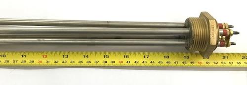 resistência elétrica rosca 1.1/4  2 elementos 6000w original