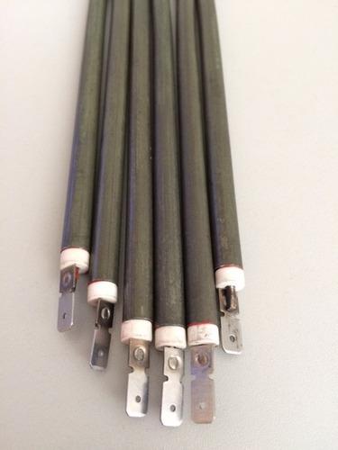 resistência p/ estufa de salgado=400 mm reta = 380w x 220v
