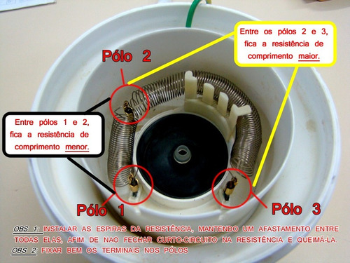 resistências ducha lorenzetti 5400w 220v kit c/ 50 pçs
