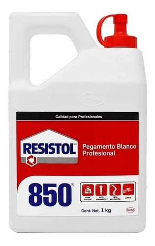 resistol 850 1 litro (pegamento blanco)