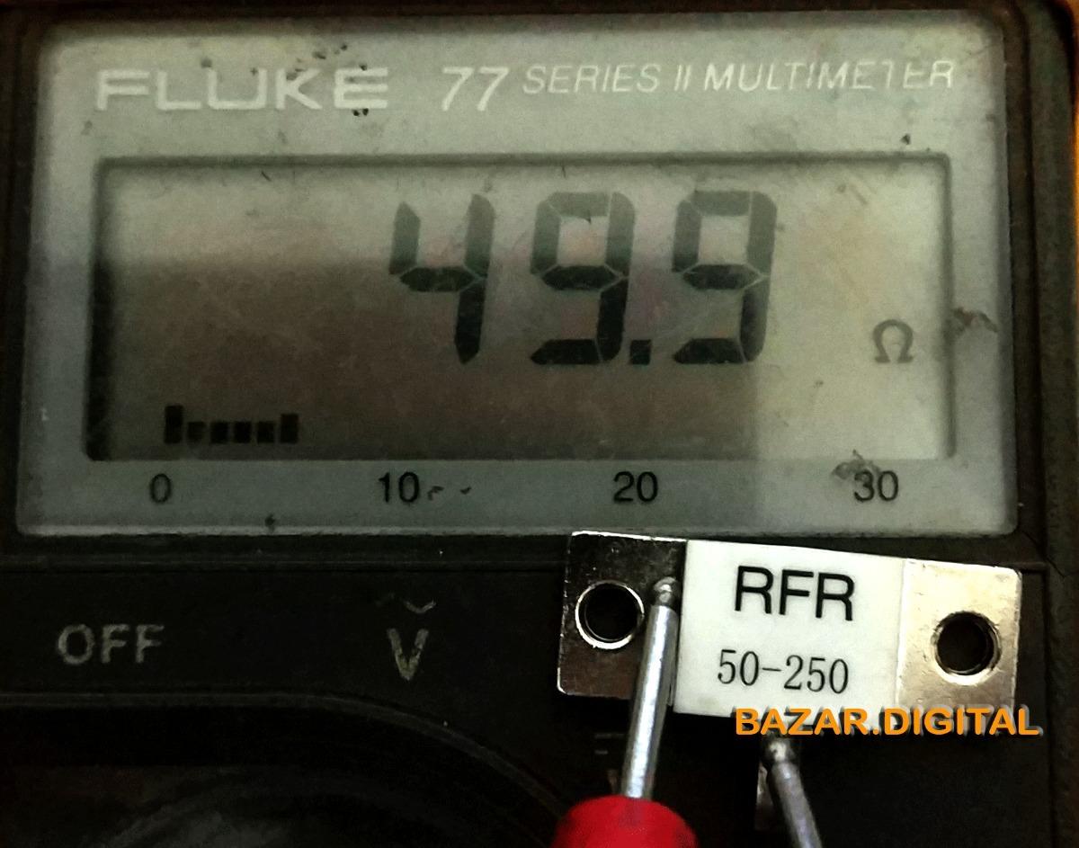 Resistor 50 Ohms X 250 W Carga Fantasma Dummy Load Novo R 41 Ohm Carregando Zoom