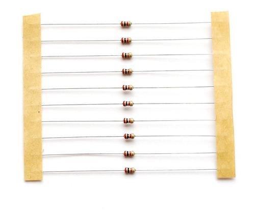 resistor carbono 2k 1/16w 5% - 200 unidades