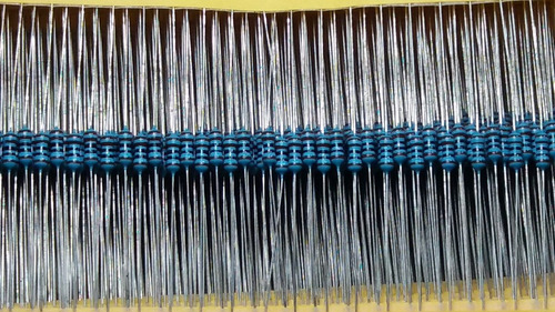resistor metal filme 1/4 w 1k ohms 1% - 100 pçs